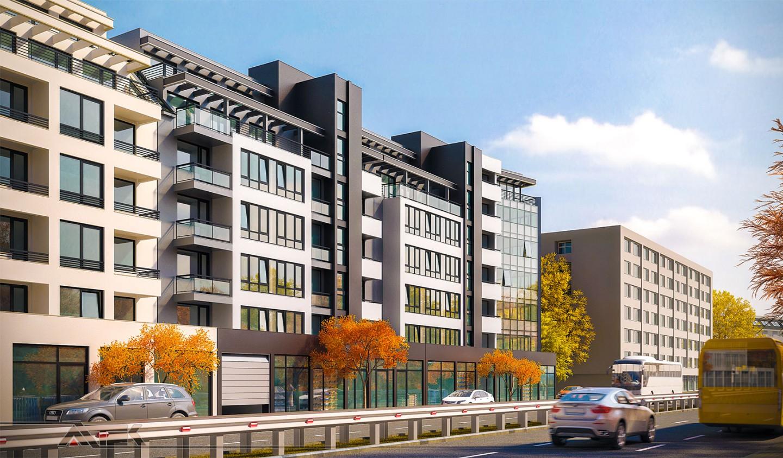 Residential building   in Malinova dolina district