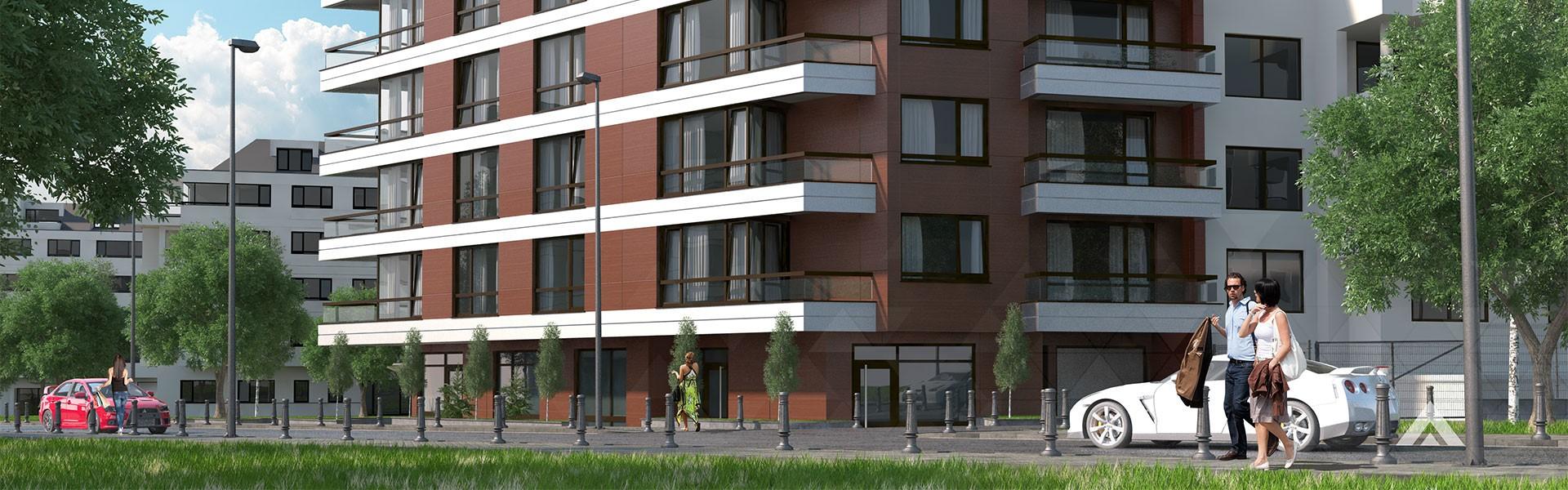Residential building, 2А Emilian Stanev str. sq.Krastova vada