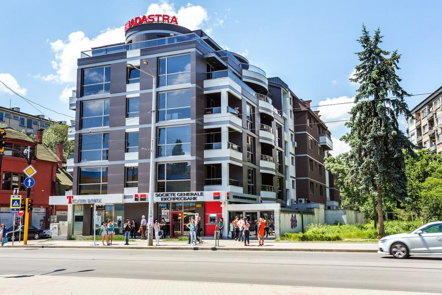 Residential building, 31 Lyubotran str.  - sq. Lozenets