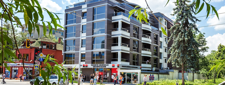 Жилищна сграда  ул. Люботрън 31 – кв. Лозенец