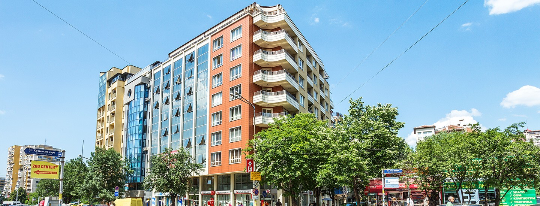 Офисно-жилищна сграда  бул. Гоце Делчев 105, кв. Стрелбище